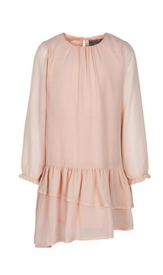 Creamie Dress Chiffon Rose Smoke