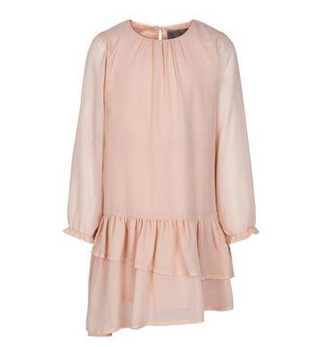 Creamie Dress Chiffon Rose Smoke