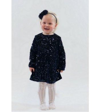 UBS.2 dress sequines darkblue