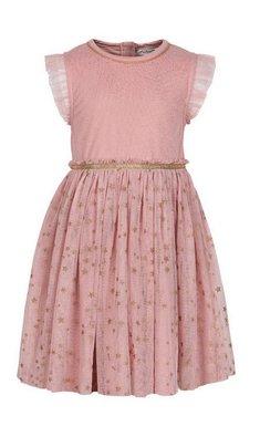 Minymo Dress mesh Zephyr old pink