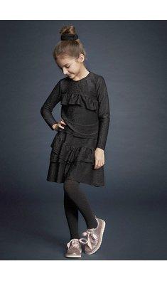 Creamie skirt gllitter black