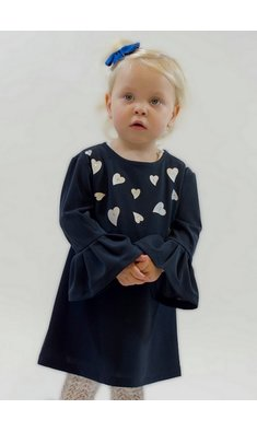 UBS.2 dress hearts darkblue