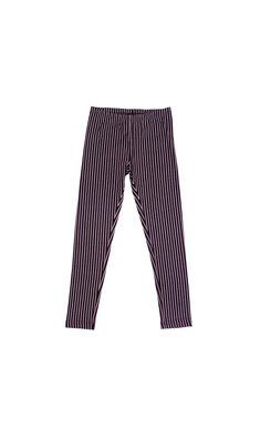 LoFff samples Legging striped black- off white