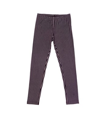 LoFff samples Legging striped black- off white