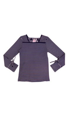 LoFff samples Sweet shirt striped dark blue- off white