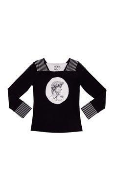 LoFff samples I love david shirt black- off white