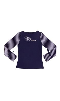 LoFff samples Shirt con amore dark blue