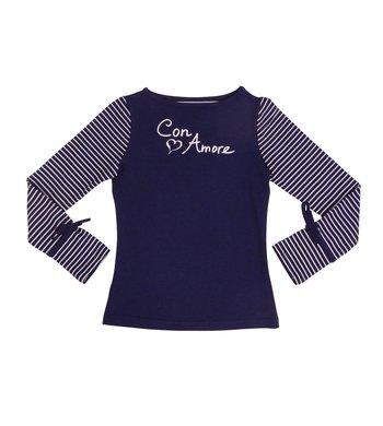 LoFff samples Shirt con amore dark blue