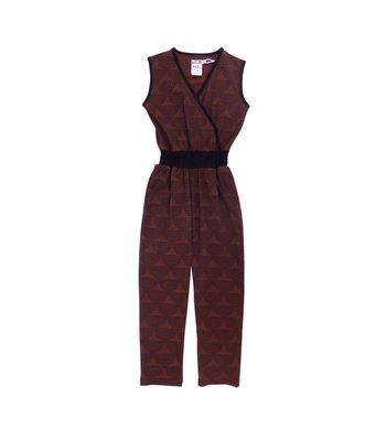 LoFff samples Winter jumpsuit black- caffè
