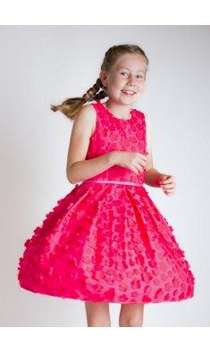 Derhy Kids Ilinka dress flowers framboise (bestseller)