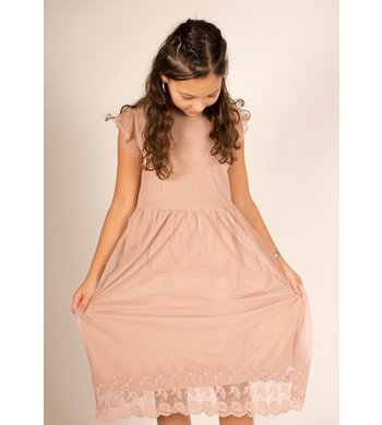 Creamie Tule jurkje adobe rose roze