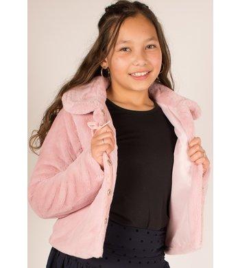 UBS.2 fakefur jasje roze