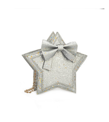 Party bag silver glitter
