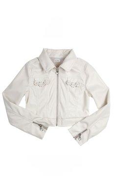 Gymp jasje leatherlook offwhite