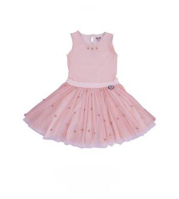 LoFff Dress Antoinette Strawberry - Off white - flowers