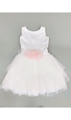Amaya dress crudo rosa offwhite