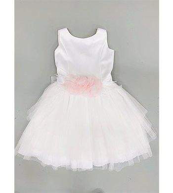 Amaya dress crudo rosa offwhite