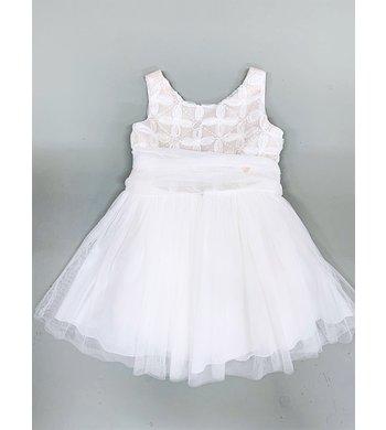 Amaya jurk bruidsmeisje offwhite