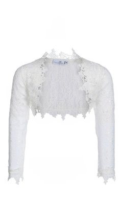 Happy Girls bolero met kant offwhite