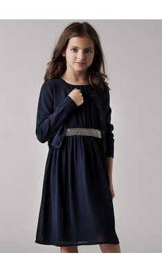 Creamie dress total eclipse blue