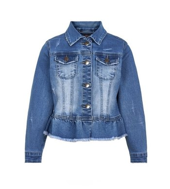 Creamie jacket denim light blue