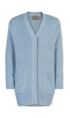 Creamie cardigan long celestial blue