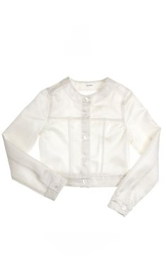 Gymp jacket offwhite/silver