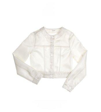 Gymp jasje offwhite / zilver