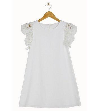 Derhy Kids dress Marianne white