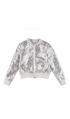 Rumbl Royal bomber taupe zilver