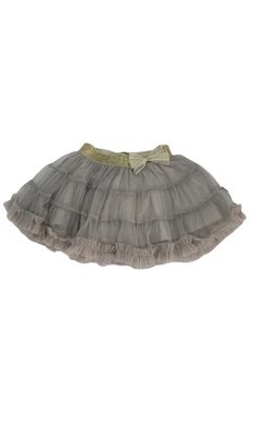 Rumbl Royal tule rokje taupe grey