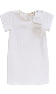 Billlieblush party dress bow white