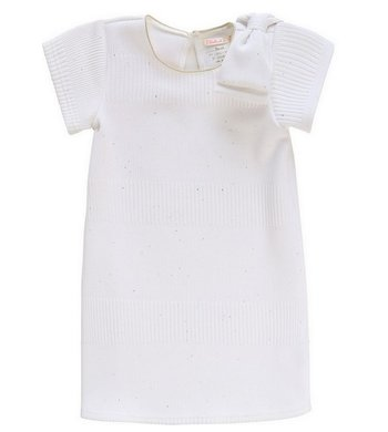 Billlieblush party dress bow white