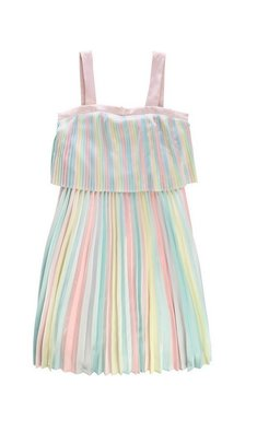 Billlieblush pleated dress pastel