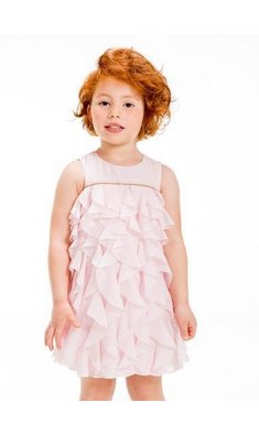UBS.2 ruffle dress pink