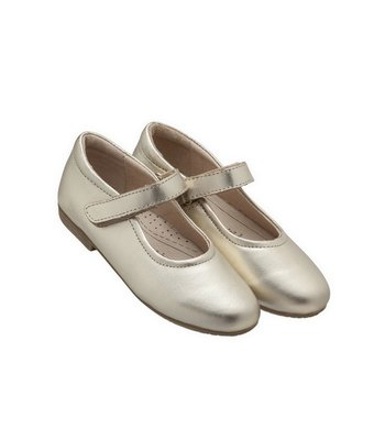 Old Soles ballet flats gold