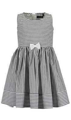 Blue Seven dress striped grey white