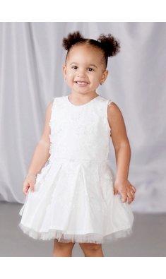 Gymp jurk bruidsmeisje Annabel offwhite bestseller