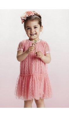 Creamie jurk tule pink icing roze