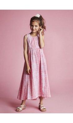 Creamie maxi jurk pink icing roze