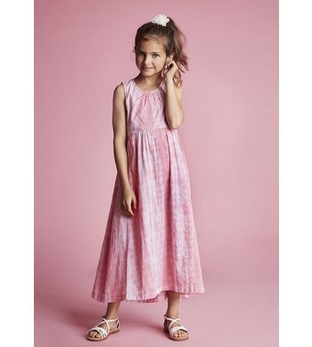 Creamie dress tie dye pink