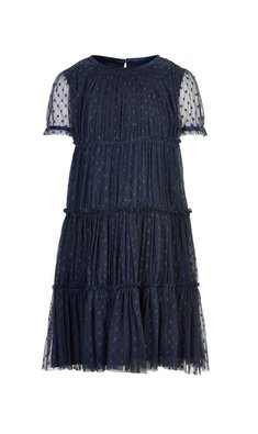 Creamie dress tulle total eclipse dark blue