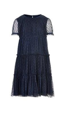 Creamie dress tulle total eclipse dark blue