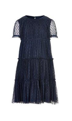 Creamie jurk tule total eclipse donkerblauw