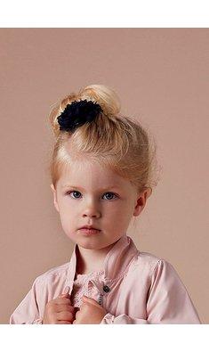 Creamie haarspeld bloem donkerblauw