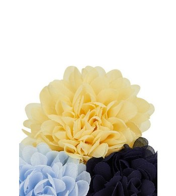 Creamie haarspeld bloem geel