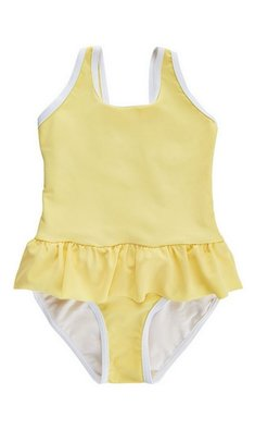 Creamie swimsuit popcorn yellow