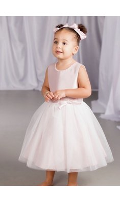 Happy Girls dress flowergirl pink