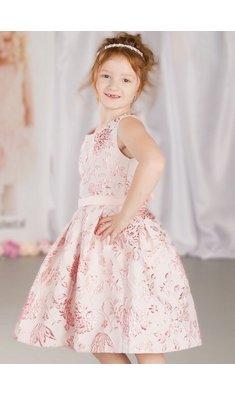 Happy Girls dress flowergirl pink