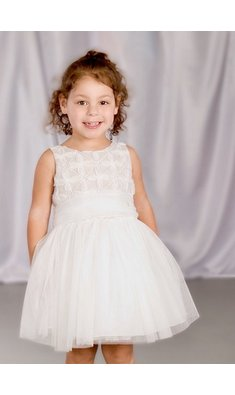 Amaya dress crudo tostado offwhite